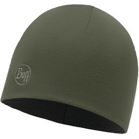 """Buff Heavyweight Merino Wool Hat Regular Solid Forest Night"""